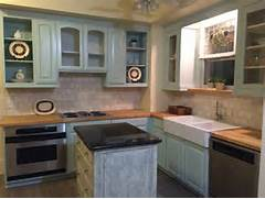 Painted Kitchen Cabinets Before And After Grey by Furniture Grey Wooden Chalk Paint Cabinet With Sink And Storage Drawer Using