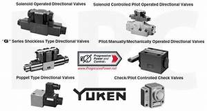 Yuken Directional Control Valves From Progressive Power And Control
