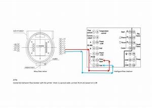 Signal Wiring Diagram Of Mass Flowmeter And Quantitative Control Inst U2026