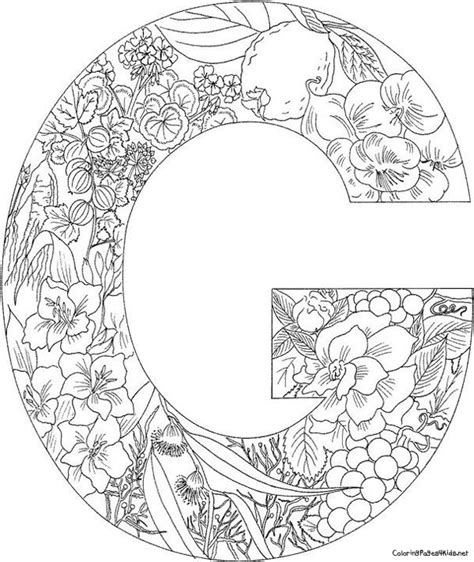 Kleurplaat Mandala Letters by 54 Best Kleurletters Images On Alphabet