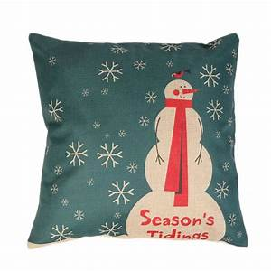 aliexpresscom buy hot sale linen christmas pillow case With christmas pillows on sale