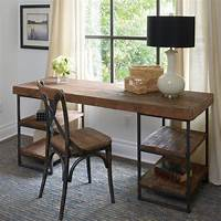 reclaimed wood desk Luxury Offices: Beautifully Reclaimed Wooden Desks