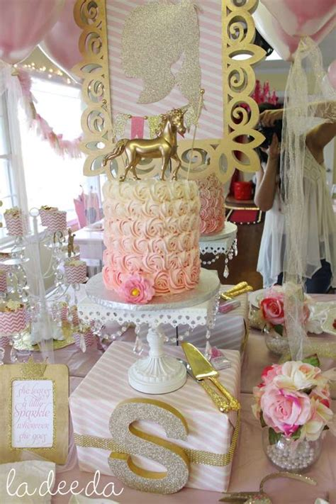 magical unicorn birthday party ideas photo