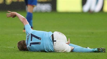 Kevin De Bruyne ruled out for six weeks with hamstring ...