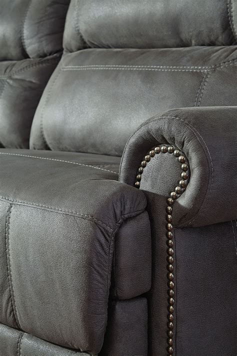 Recliner Sofa With Console by Austere Gray Reclining Sofa From 3840181