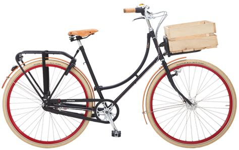 retro e bike damen roetz bike retro transport damen hollandrad berlin