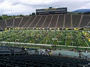 Autzen Stadium Seating Chart Autzen Stadium Section 27 Rateyourseats Com
