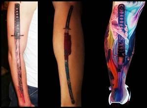 7 KATANA SWORD TATTOOS ~ Everything About Tattoos