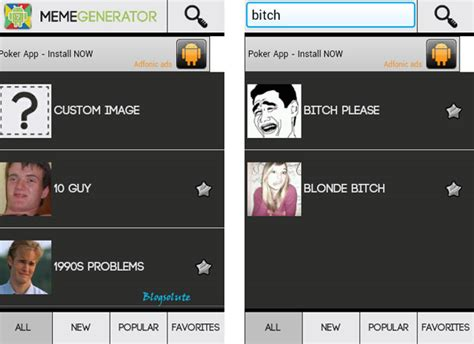 Android Meme Generator - custom meme generator app for android with funny inbuilt templates
