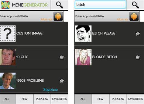 Custom Image Meme Generator - custom meme generator app for android with funny inbuilt templates
