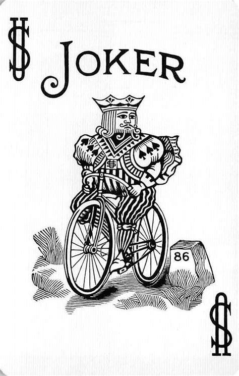 Vintage Joker Single Swap Playing Card Bicycle 86 Blue Back in 2019   Joker card, Bicycle cards