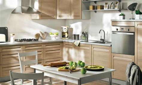 cuisine en bois clair cuisine aspect bois ch ne clair