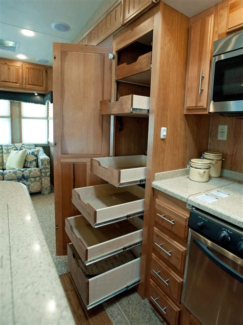 rv kitchen storage photo page hgtv 2080