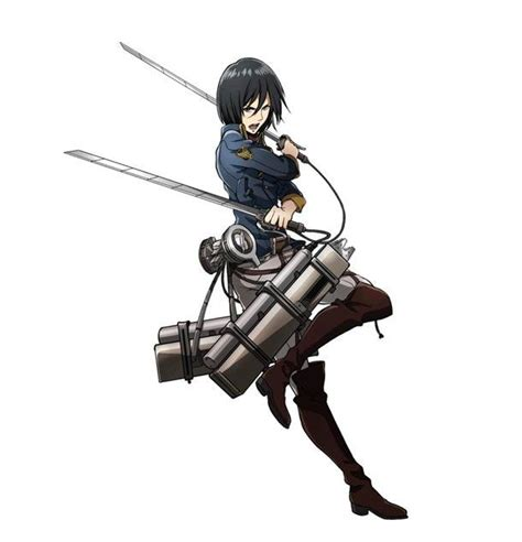 Mikasa And Levi Outfited With New Uniforms For Attack On