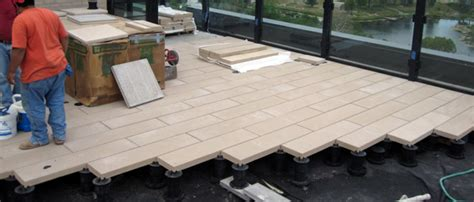 Tile Tech Pavers Los Angeles by Green Roof Solutions Adjustable Deck Supports To Install