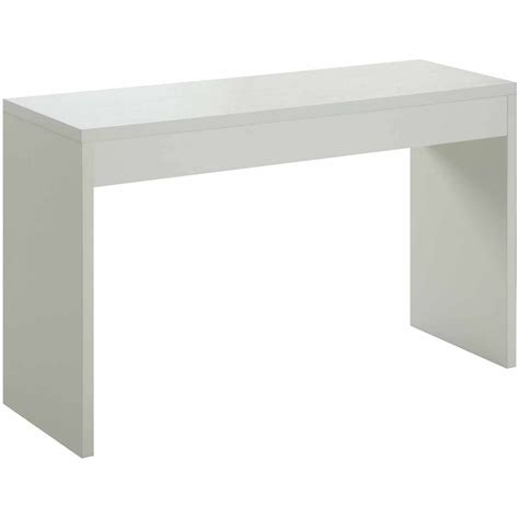 white wood console table contemporary white console table accent wood modern