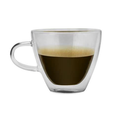 200ml double wall glass cup transparent double glass coffee cup glassware mugs. Haus Kalorik Double Wall Glass 4 Oz Coffee/Tea Cups & Reviews   Wayfair