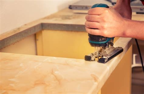 marble and granite countertops installation process