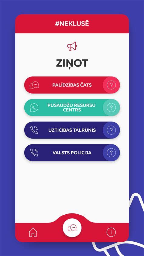 Mobilā lietotne - #Neklusē