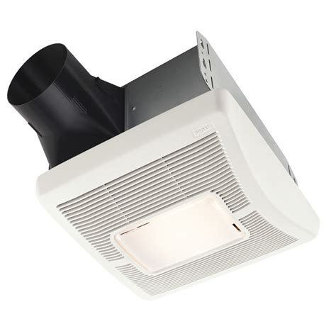 lowes broan bathroom fan shop broan 2 sone 80 cfm white bathroom fan at lowes com