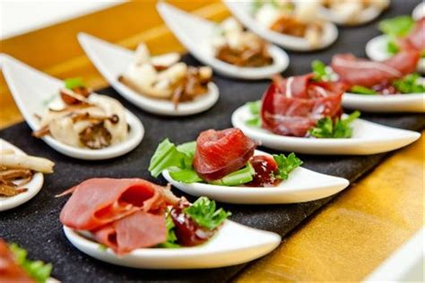 canape food ingredients events company canap 233 s bowl
