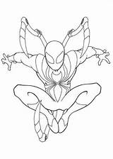 Spider Iron Ultimate Coloring Pages Fun Spiderman sketch template