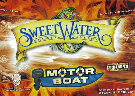 Motorboat Beer by Sweetwater Motor Boat Ale Beer Review