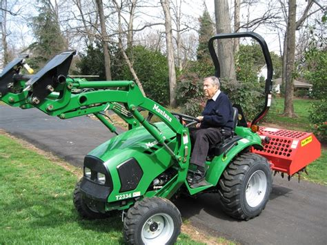 agrimetal tractor  point hitch professional turf core aerator