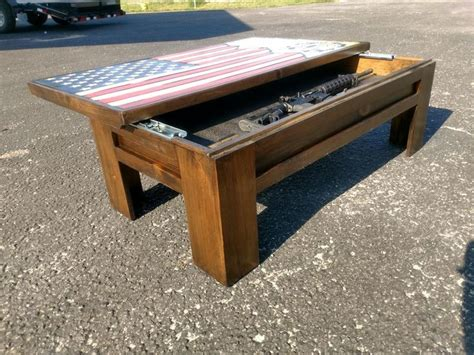 Here is a 48 x 26 3/4 american flag coffe table or decorative mantle piece. Rustic American Flag Coffee Table | Coffee table, Man cave coffee table, Diy coffee table