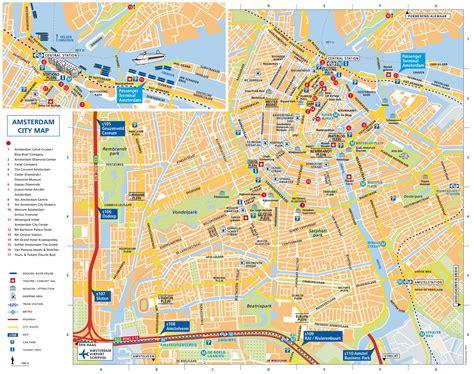 amsterdam tourist map
