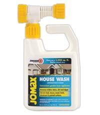 zinsser jomax house wash mildew stain remover