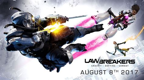 lawbreakers is coming to ps4 and pc in august open beta this month techspot