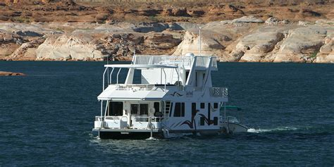 Houseboats Lake Powell by Luxury Houseboat Rentals At Lake Powell Resorts Marinas