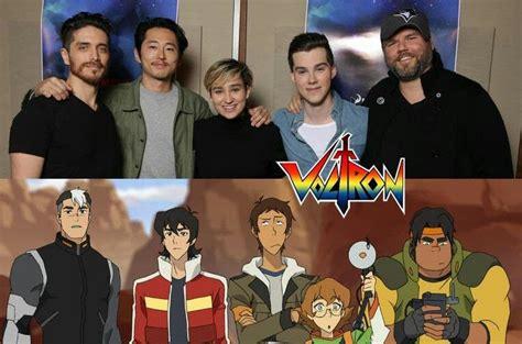 voltron cast legendary defender characters jeremy shada steven yeun voice actor lance actors trailer shiro fanart klance character form warning
