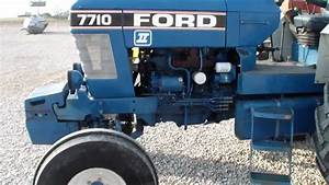 1987 Ford 7710 Tractor - Part 1