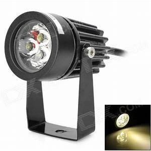 Led Spot 12v : uitafire 3w 180lm 3500k 3 led warm white light spotlight black 12v ~ Watch28wear.com Haus und Dekorationen