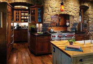 Rustic Kitchen Interior Design Carters Kitchenion