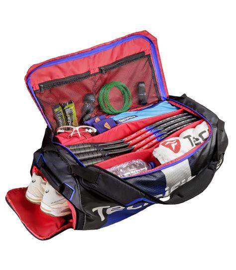 tecnifibre air endurance rackpack squash bag  squashcom