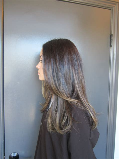 Brunettes Hair Colors by Delicate Highlights Neil George
