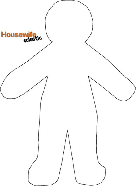 Paper Doll Template Free Paper Doll Template Costumes