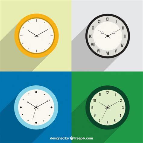 Variété D'horloges  Télécharger Des Vecteurs Gratuitement