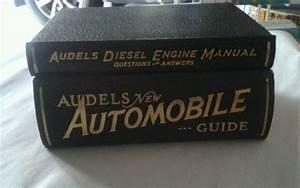Audels New Automobile Guide  U0026 Diesel Engine Manual Very