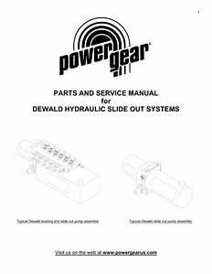 Parts  U0026 Service Manual For Dewald Hydraulic Slide