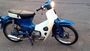 Honda C50 First Start  Greece