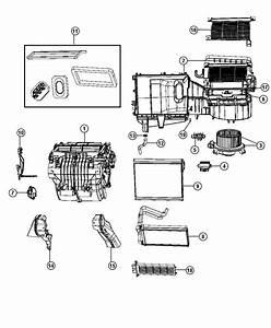 2010 Dodge Journey Actuator  Blend Door  A  C And Heater