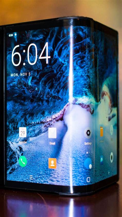 wallpaper royole flexpai foldable smartphone   tech
