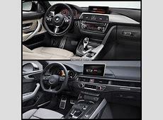 Photo Comparison BMW 4 Series Gran Coupe vs Audi A5 Sportback