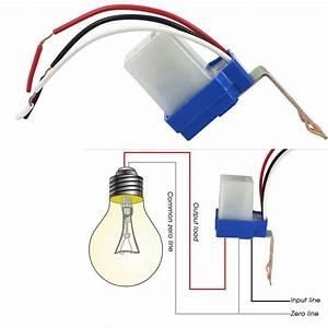 Auto On Off Photocell Day Night Sensor Light Switch  Ac