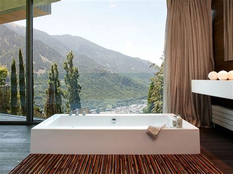 modern residence  andorra offers  window   pyrenees