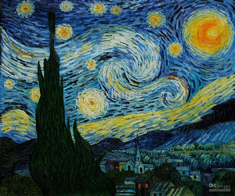 2018 Gift Vincent Van Gogh Oil Painting Reproduction